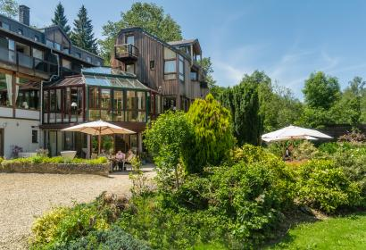 Discover the Hostellerie La Claire Fontaine in La Roche-en-Ardenne