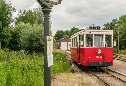 Embarquez à bord du Tramway touristique de l'Aisne à Erezée