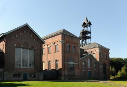 La Louvière (Houdeng-Aimeries) - Bois-du-Luc - mine - charbonnage - patrimoine mondial de l'UNESCO