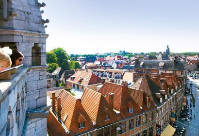 Tournai - Panorama - ville - toitures