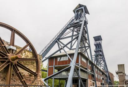Explore Boid du Cazier in Marcinelle, a former mining site listed by UNESCO