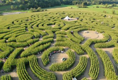 Le Labyrinthe de Durbuy, parc d'attractions insolite en Belgique