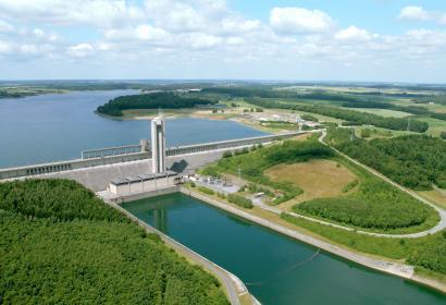 Les Lacs de l'Eau d'Heure - Dam van La Plate Taille - Boussu-lez-Walcourt