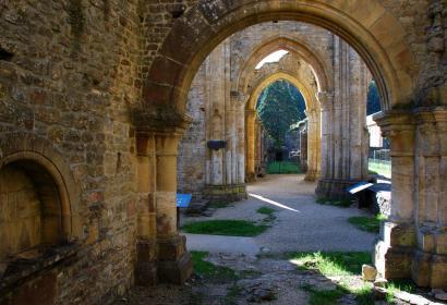 Abbaye d'Orval dans la province du Luxembourg