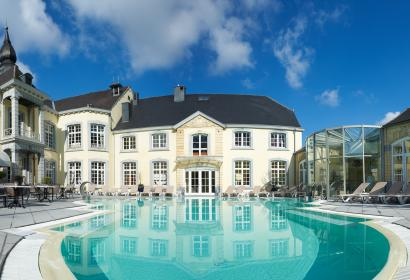 Profitez des eaux thermales au Château des Thermes à Chaudfontaine