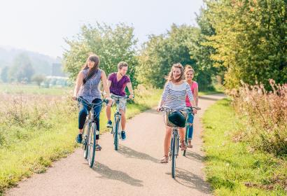 Profitez d'une promenade à vélo dans le Condroz-Famenne