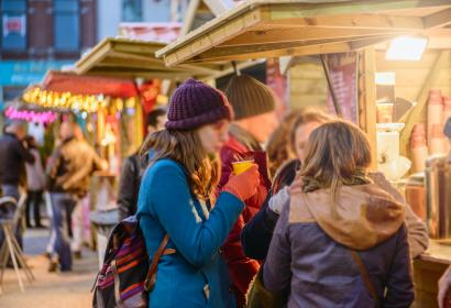 Wander through Charleroi's Christmas market