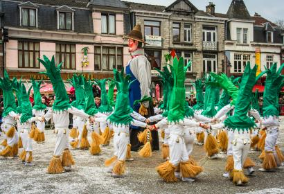 Discover the giants, symbols of Wallonia and its rich folklore, in Tilff