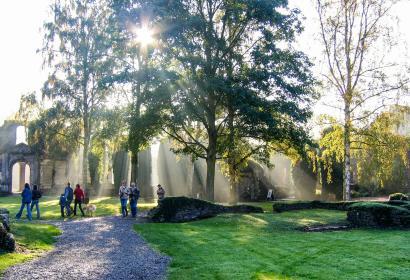 Découvrez l'Abbaye de Villers-la-Ville, dans la province du Brabant wallon