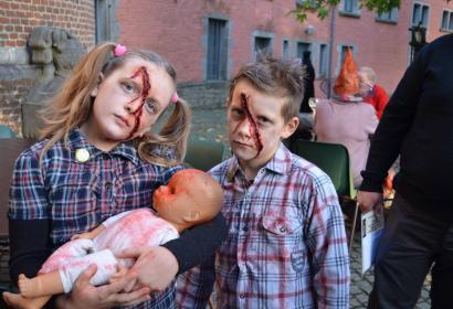 Halloween château de Trazegnies