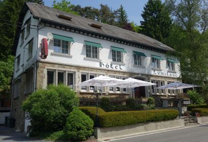 Ontdek het Hotel-restaurant L'Ermitage - Bistrot des Saveurs in Houffalize