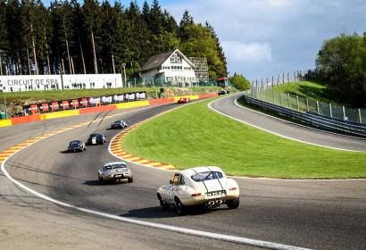 Spa Classic Francorchamps course automobile