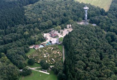 Les Trois Bornes - Tour Baudouin - Wallonie insolite