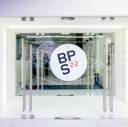 BPS22, Musée d'art de la Province de Hainaut - entrée