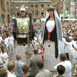 Ducasse - Ath - procession - géants - Goliath