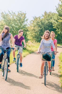 Geniet van een fietstocht in de Condroz-Famenne